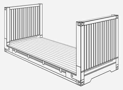 Flat Rack Containers Specification