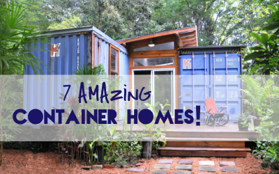 7 Amazing Shipping Container Homes
